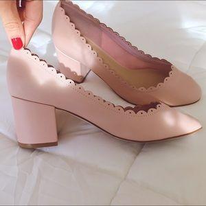 Asos SULTAN Scallop Detail Block Heels